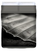 Beech Leaf Detail #1 Duvet Cover