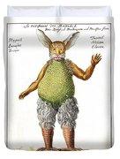 Beelzebub, Or The Devil, 1775 Duvet Cover