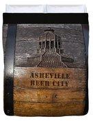 Beer Barrel City Duvet Cover