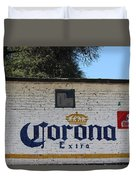 Beer In Mexico Duvet Cover