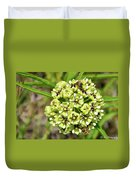 Bees Pollinating Duvet Cover