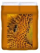 Bee's Sunflower Duvet Cover