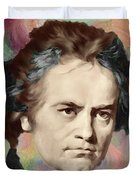 Beethoven Duvet Cover