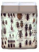 Beetles Duvet Cover