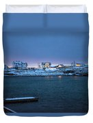 Before Dawn Reine Lofoten Duvet Cover