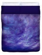 Before It Storms Duvet Cover