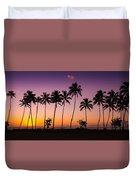 Before Sunrise In Kauai Duvet Cover