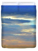 Before Sunset Color  Duvet Cover