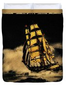 Before The Wind Duvet Cover