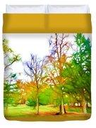 Beginning Of Autumn Duvet Cover