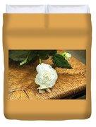 Begonia In Repose Duvet Cover
