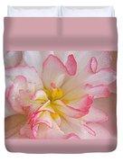 Begonia Pink Frills - Horizontal Duvet Cover