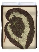 Begonia Rex Duvet Cover