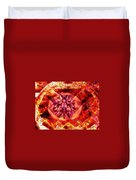 Behold The Jeweled Eye Of Blood Duvet Cover
