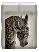 Behold The Pale Horse Duvet Cover
