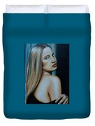Being Emma, Nude Portrait Art Duvet Cover