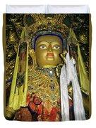 Bejeweled Buddha Duvet Cover