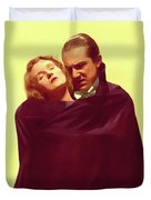 Bela Lugosi And Helen Chandler, Dracula Duvet Cover
