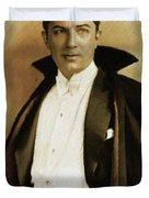 Bela Lugosi As Dracula Duvet Cover