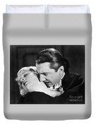 Bela Lugosi  Dracula 1931  Feast On Mina Helen Chandler Duvet Cover