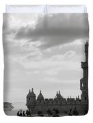 Belem And The Boat Duvet Cover