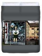 Belfast Mural - Butterfly - Ireland Duvet Cover