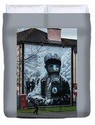 Belfast Mural - Face Mask - Ireland Duvet Cover