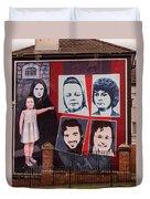 Belfast Mural - Ireland Duvet Cover