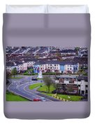 Belfast Mural - Derry Neighborhood - Ireland Duvet Cover