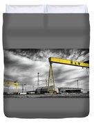 Belfast Shipyard 2 Duvet Cover