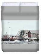 Belfast Tugs 2 Duvet Cover