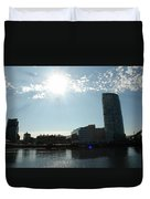 Belfast Waterfront Duvet Cover