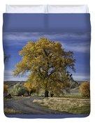 Belfry Fall Landscape 5 Duvet Cover by Roger Snyder