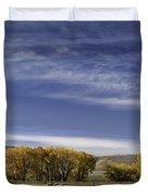 Belfry Fall Landscape 6 Duvet Cover