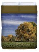 Belfry Fall Landscape 7 Duvet Cover by Roger Snyder