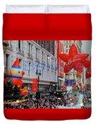 Believe Macys  Parade Duvet Cover