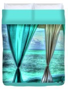 Belize Curtains #1 Duvet Cover