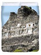 Belize Mayan Ruins  Duvet Cover