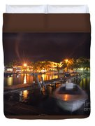 Belizean Night  Duvet Cover