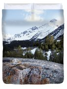 Bell Mountain Duvet Cover