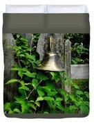 Bell On The Garden Gate  Duvet Cover