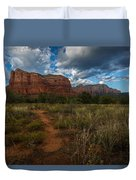 Courthouse Butte Sedona Arizona Duvet Cover
