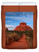 Bell Rock Duvet Cover