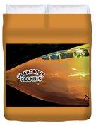 Bell X-1  Glamorous Glennis Duvet Cover