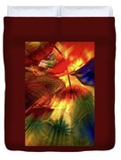 Bellagio Ceiling Sculpture Abstract Duvet Cover