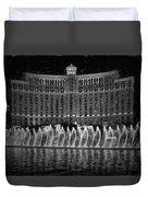 Bellagio Fountains Duvet Cover