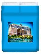Bellagio Hotel And Casino Duvet Cover