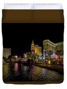 Bellagio On The Las Vegas Strip Duvet Cover