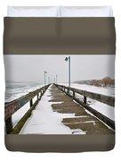 Belle Isle Bridge Duvet Cover