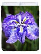 Bellevue Botanical Garden Iris 6402 Duvet Cover